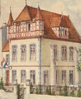 Studentenverbindung - Corporation house of the K.St.V. Arminia Bonn (1900–present)