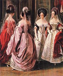 Женское платье это википедия