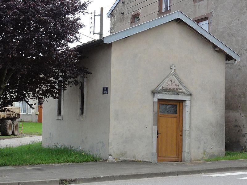 Arracourt (M-et-M) chapelle Notre-Dame-de-Pitié