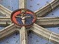 Arreau chapelle Saint-Exupère clé de voûte (3).JPG