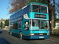 Arriva Yorkshire DAF DB250 Optare Spectra (707, YG52 CFF) (11571159636).jpg