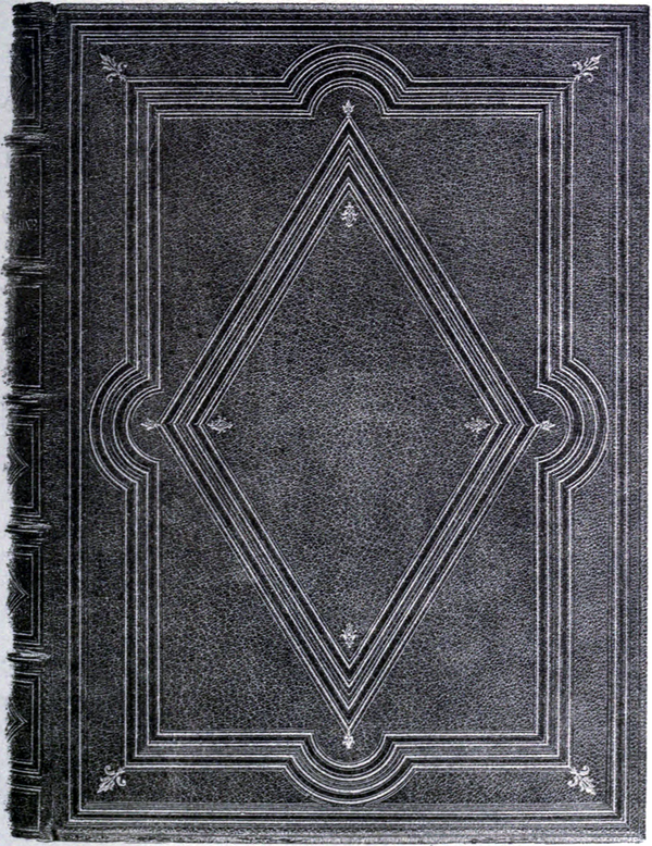 Photo-lithograph of a book cover.