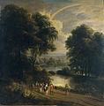 Arthois-paisaje a la orilla de un río.jpg