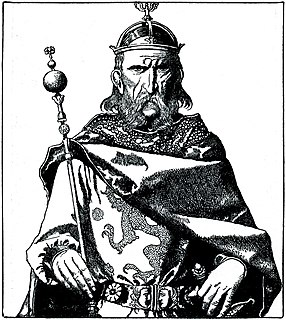Father of King Arthur in Arthurian legend