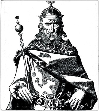 Uther Pendragon - Uther Pendragon, by Howard Pyle from The Story of King Arthur and His Knights (1903)