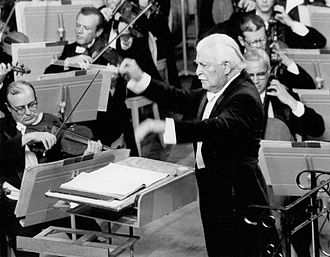 Arthur Fiedler - Fiedler conducting the Boston Pops Orchestra in 1969