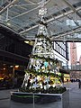 Artificial Christmas Tree in Cardinal Place - geograph.org.uk - 1611657.jpg