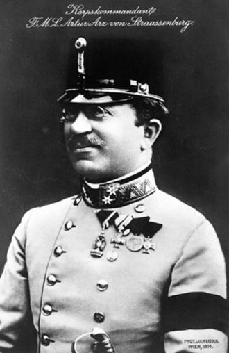 Arthur Arz von Straußenburg - Arz as a Lieutenant-Field Marshal in 1912