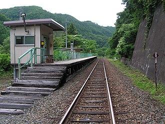 Asagishi Station - Asagishi Station in August 2006