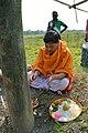 Ashim Batabbal Worshiping Charak Pole - Narna - Howrah 2014-04-14 0418.JPG