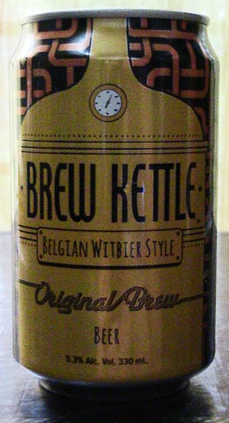 Asia Brewery - A can of Asia Brewery's Brew Kettle