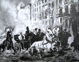 Friedrich Wilhelm Rembert von Berg - Assassination attempt on Russian general Fyodor Berg in Warsaw 1863
