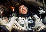 Astronaut James Lovell is photographed inside his Gemini spacecraft during the Gemini-12 mission.jpg