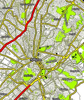Πολύγωνο βρίσκεται στο τόπο Αθήνα