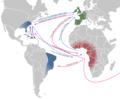 Atlantic Triangular Trade, 1500-1800s.png