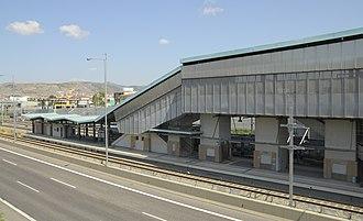 Ano Liosia - Ano Liosia Proastiakos station