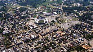 Auburn, Alabama - Image: Auburn AL Above