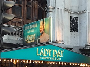 Lady Day at Emerson's Bar and Grill -  Lady Day at Emerson's Bar and Grill starring Audra McDonald at Wyndham's Theatre.