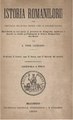 August Treboniu Laurian - Istoria Românilorŭ - din Timpurile celle maĭ vechie pîno în ḑillele nóstre - Distribuită în treĭ părți, și pre.pdf