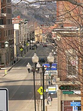 Augusta, Maine street view