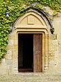 Auriac-du-Périgord Faye château porte.JPG