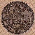 Australia - Halfpenny Token 1861 Warnock Bros - reverse.jpg