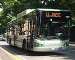 Autobus BredaMenarinibus Avancity di MOM - Mobilità di Marca, per Paese, Linea 11.jpg
