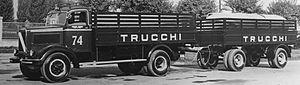 Lancia 3Ro - Civilian 3Ro with trailer