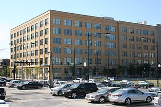 National Register of Historic Places listings in West Side Chicago - Image: Automatic Electric Company Building 4
