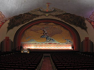 Catalina Casino - Stage of Avalon Theatre
