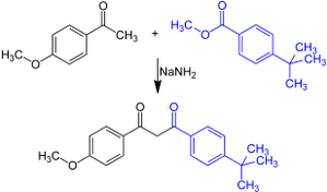 Avobenzone - Synthese Avobenzon