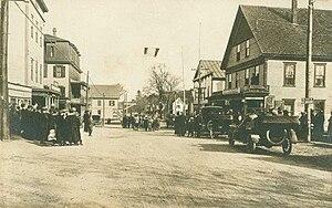 Raymond, New Hampshire - Main Street c. 1918