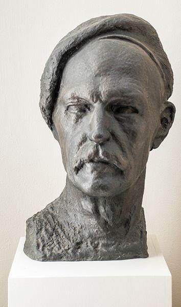 File:Axel Ebbe, portrait of the artist, 1938, Axel Ebbes konsthall Trelleborg Sweden.jpg