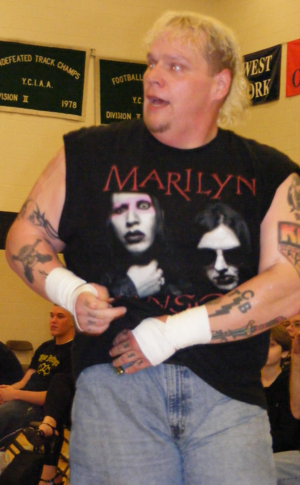 Axl Rotten - Rotten at the York County School Of Technology in April 2009