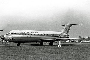 Aloha Airlines - Aloha BAC 1-11 in 1967