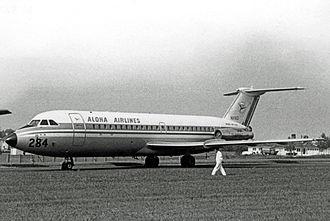 Aloha Airlines - Aloha BAC 1-11 in 1967
