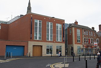 BBC Radio Leicester - BBC Leicester building, at 9 St Nicholas Place