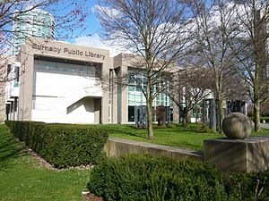 Burnaby Public Library - Bob Prittie Metrotown branch