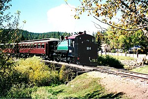 Keystone, South Dakota - Image: BHC RR in 2001