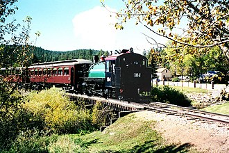 National Register of Historic Places listings in Pennington County, South Dakota - Image: BHC RR in 2001