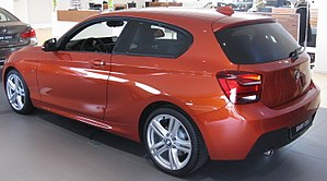 BMW 1 Series (F20) - F21 three-door hatchback