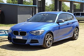 BMW M135i (F21) in Uruguay - front