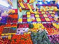 BOUALM artwork traditional market of fruit Morocco.jpg
