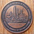 BRITISH COLUMBIA, PRINCE GEORGE REFINERY, 1968 MEDALLION -a - Flickr - woody1778a.jpg