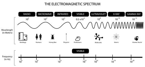 BW EM spectrum