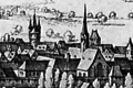 Bad Kreuznach 1645 Stadtplan Detail Franziskanerkloster.png