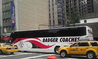 Badger Bus - In Manhattan, New York City
