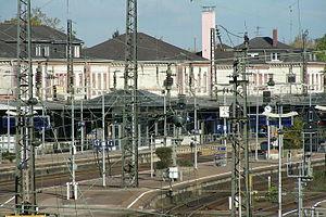 Black Forest Railway (Baden) - Offenburg station