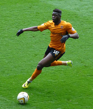 Bakary Sako - Sako playing for Wolverhampton Wanderers