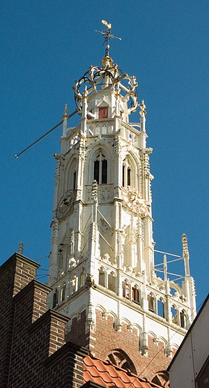 Bakenesserkerk - The sandstone tower of the Bakenesserkerk